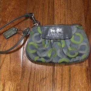 Coach Wristlet/Mini Bag/Clutch
